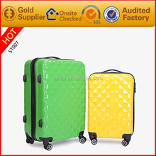 Fresh Color Big Travel Luggage for Lady Girls polyethylene bags