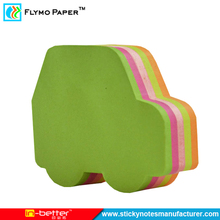 Made In China Shaped Sticky Paper Car Shaped Sticky Writing Note Stationery