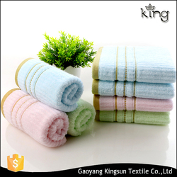 New natural plant dyeing low twist organic cotton face towel