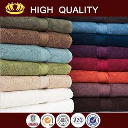 2015 new design organic color cotton towel- towel with great price