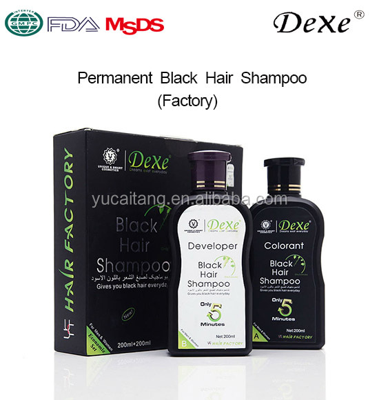 Hair Dye Name Brand Shampoo Type Black Hair Color Shampoo In Hair Dye