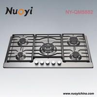 New Model 2015 Cooktop stanless steel Built-in Gas stove/gas hob protectors