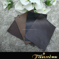 knitted backing sofa leather fabric/durable pu leather for sofa/pu uphlostery leather for sofa