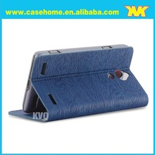 standing style leather case for zte blade l2 mobile phone cover