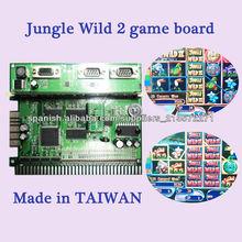 Jungle Wild tarjeta tragamonedas