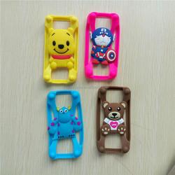 phone case Rabbit hello kitty 3d silicone case for iphone 4 4s ,for iphone 4s case hello kitty ,for iphone case 4s 5s 6 Universa