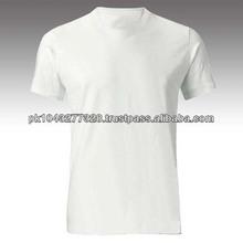 2014 fashion plain 100% cotton men's t-shirt clothing