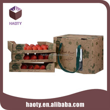 Elaborate corrugated board mango box