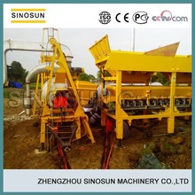 double drum type small mobile asphalt machine,8T/H asphalt mixing plant machine,SINOSUN SLB8 asphalt machine for sale