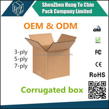 Contact us for real factory price of custom size 5 layers mailing box cardboard