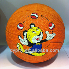 cheap mini rubber basketballs 1# for kid