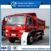 hydraulic telescopic cylinder for tipper truck FAW 15CBM lorry dump truck