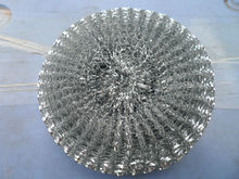 best selling products stainless steel mesh scrubber galvanized mesh scrubber in india