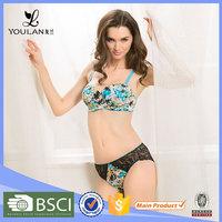 Made in China Beautiful Benifits Unlined Bra Panty Model