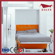 High quality modern design space saving furniture murphy bed ikea folding bed rollaway bed queen size