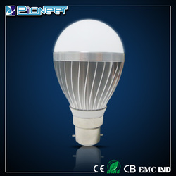 aluminium housing for 5w led bulb with good quality led bulb made in China lower price bulb led light zhong shan lighting