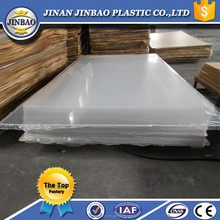 china good factory clear and color plexiglass sheet with PE film