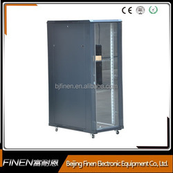 SPCC 19Inch Electronic Telecom Rack Cabinet With Lockable Door