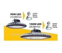 seeds coca MeanWell HBG Driver 120lm/w 150w led high bay light ip65 spot 3w led light