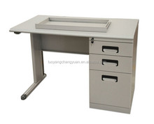 Home/office/school use small steel tube frame computer desk