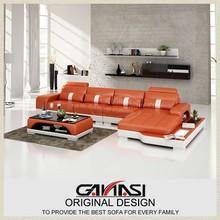GANASI leather china modern design,furniture design large size,modern comfort leather sofa living