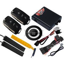 Car Engine Starter Smart Push Button Start Car Pke System Keyless Go System car security alarm system