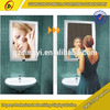 Infrared ray sensor Magic mirror aluminium frame light box