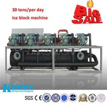 high capacity and efficiency 30 tons per day ice block making machine from Guangzhou supplier