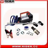 200W 12v diesel transfer pump,portable fuel dispenser,oil station fuel dispenser