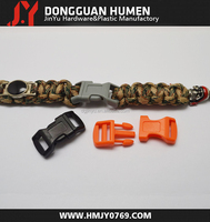 Jinyu plastic insert buckle/custom logo plastic bag buckle/plastic side release buckle
