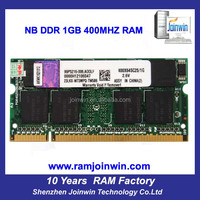 HongKong price ETT chips 64mb*8 ddr 1gb ram memory for laptop