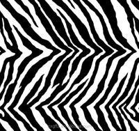 black and white animal pattern zebra design fabric bedding set