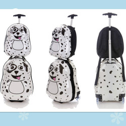toddler and kids backpacks travel suitcase wheeled lightweight luggage/luggages