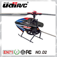 2014 New product Udirc 2.4G 4CH Single blade RC Helicopter Mini hobby models D2