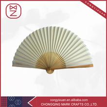 Ventilateur de pliage de bambou Folk Art artisanat pour cadeau de noël