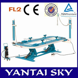 Sky FL2, 2014 round tower automotive frame machines accident damaged cars