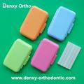 médico colorido mergulhando ortodôntico cera dental equipamento de laboratório