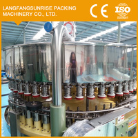 55-8 Electric pop can filling and sealing machine