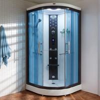 High Quality Aluminium Frame Toughened Glass Steam Shower Room (DQ-F8852)