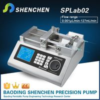 Variable speed metering pumps for liquid,high precision circulating pump for transfer,semi automatic peristaltic pump