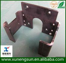 China high precision custom fabrication metal service, laser cutting