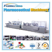 Automatic medicine blister and carton packing production line -- FARMASINO