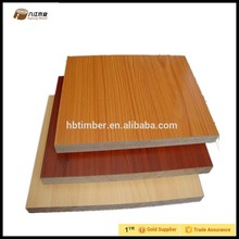 Cheap price 12mm texture wood grain double sided perforated mdf board for interior design in cheap price