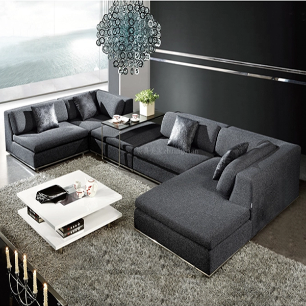 cheap price modern fabric sofa living room design s035b