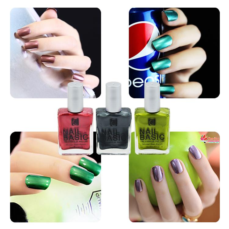 2015 nouveau produit color miroir effet vernis ongles for Vernis a ongle effet miroir
