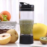 Fancy 650ML blender shaker cup, plastic fruit mixer, water bottles joyshaker without labels