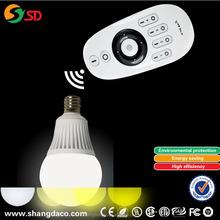 30 metre E27 LED wireless led light Remote control wifi led bulb lighting