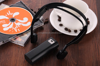 2015 New Model Wireless Bluetooth Bone Conduction Headphone,noise cancelling headphones