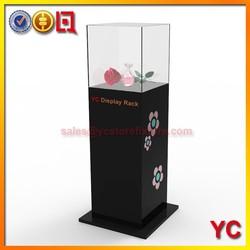 High class luxury acrylic jewelry display case