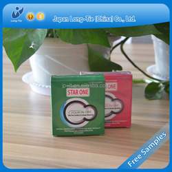 China wholesale hot sales natural rubber latex condom for men